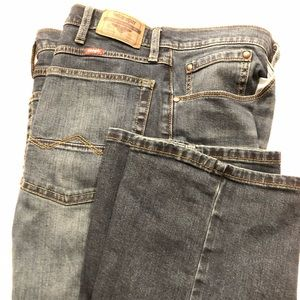 Wrangler Relaxed Boot Denim Jeans sz 36x34